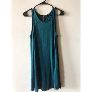 Turquoise dress loose fit